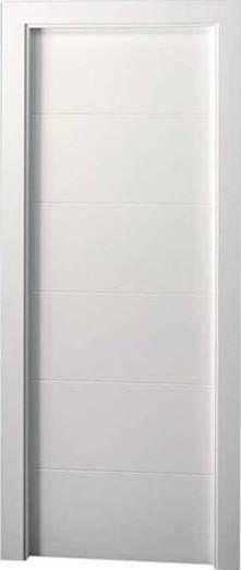 Puertas lacadas madrid carpinter a de puertas lacadas gin s - Puertas blancas con rayas ...