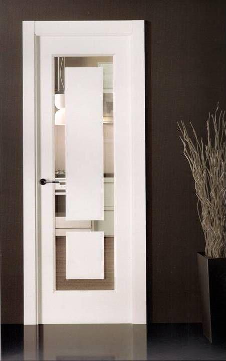 Puertas lacadas madrid carpinter a de puertas lacadas gin s - Puertas de casa blancas ...