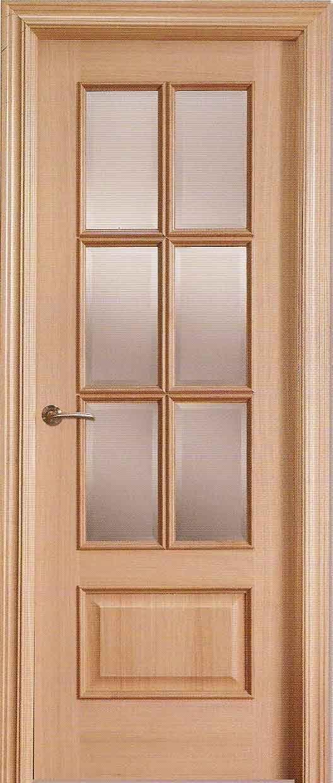 Puertas de madera madrid carpinter a en madrid de - Como barnizar una puerta de madera ...