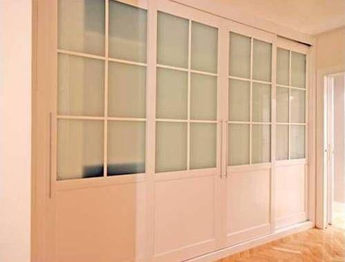 Armarios empotrados madrid carpinter a de armarios - Fotos de puertas correderas ...