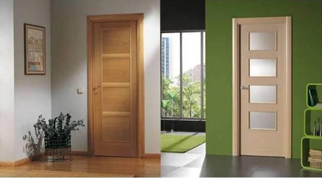 Puertas modernas para interiores awesome puertas blancas for Puertas de madera interiores baratas